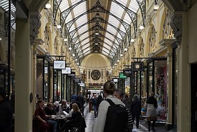 Inside the Royal Arcade