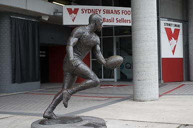 Sydney Swans Headquarters with Paul Kelly
