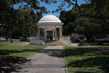 Balmoral Rotunda for Shakespeare in the park