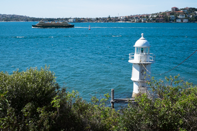 Manly Ferry and Bradley's Head Lighthouse