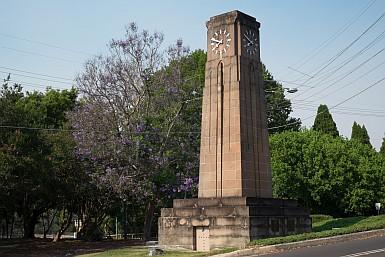 War Memorial Clock Northbridge