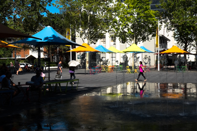 Colourful Parramatta Plaza