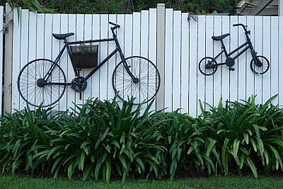 Bikes on Wall