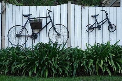 Bikes on Wall