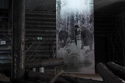 Logging Labour Camp or Gulag in Russia