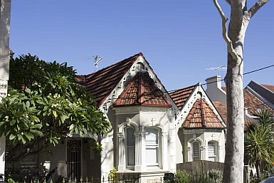 Cottages in Petersham