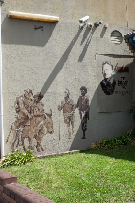 Portland RSL Wall mural