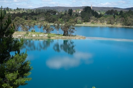 Lake at Cement Works Portland