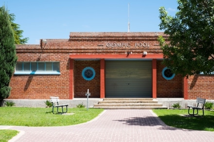 Art Deco Features of Portland's Local Pool
