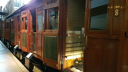 Old Passenger Carriages from early 1900s