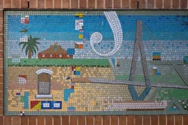 Pyrmont mosaic