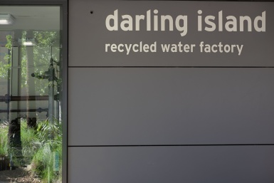 Darling Island Recycled water factory