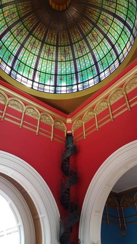 Details of the Queen Victoria Building in Sydney