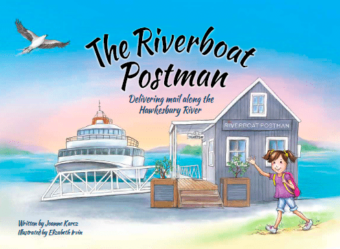 Cover of Riverboat Postman Children's book
