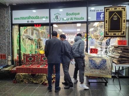 Shops open late in Lakemba