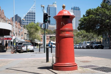 Heritage Red Post Box