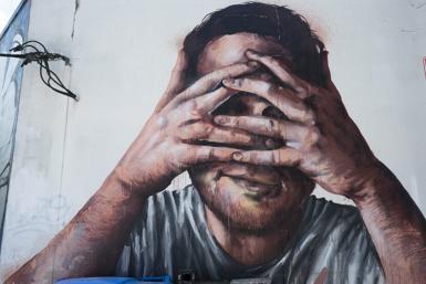 Redfern Street Art by Fintan Magee