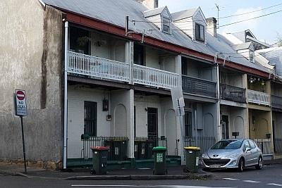 Terraces in Redfern