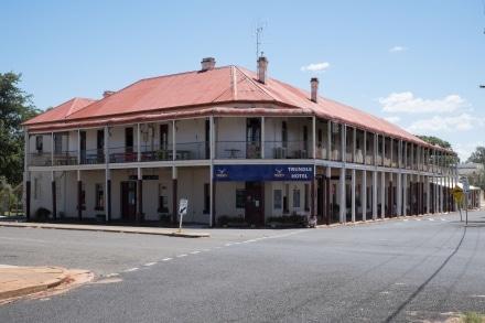 Longest Hotel Verandah in NSW Trundle Hotel