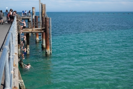 Glenelg Beach and Glenelg Pier