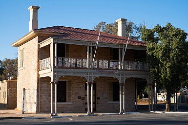 Wilcannia Council Chambers Heritage Building