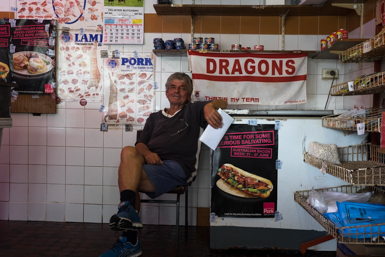 Friend of Macedonian butcher and Dragons supporter