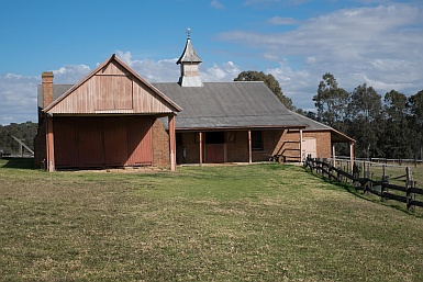 The Stables at Rouse Hill House