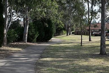 Suburban Greenery in Rouse Hill