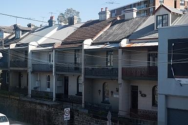 Terraces in Rozelle