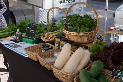 Slow Food Earth Market Stall in Maitland