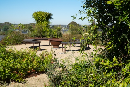 Rooftop Community Garden at Yerrabingin with Yarning Circle