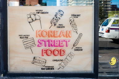 Korean Street Food in Strathfield