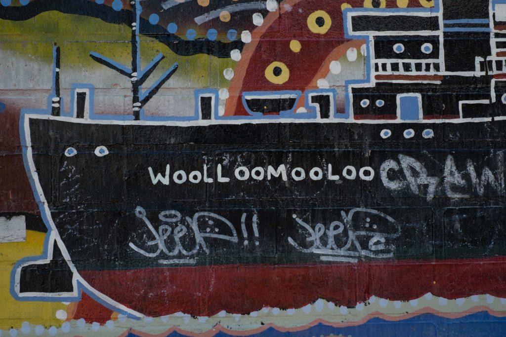 Aboriginal Art in Woolloomooloo