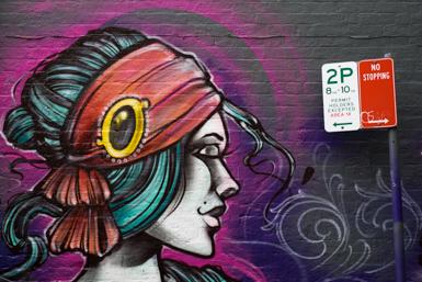 Street art Surry Hills