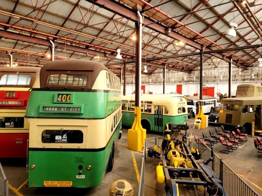 Sydney Bus Museum in the Old Tramshed in Leichhardt