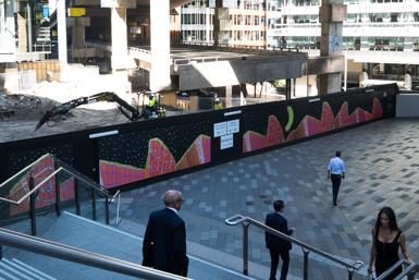 Sydney Opera House forms great Sydney Street Art