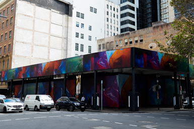 New urban art in Sydney