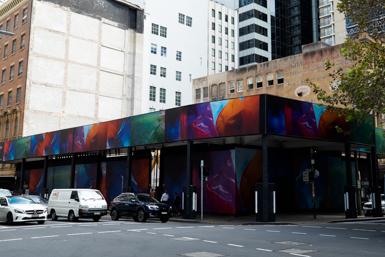 New urban art in Sydney
