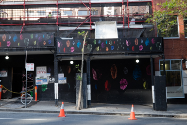 Stone Jewels decorate Sydney Streets