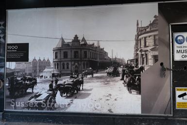 Historic photographs form Sydney Urban Art