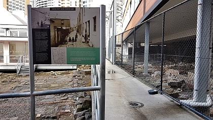 Carahers Lane in The Rocks and The Big Dig