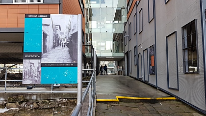 Cribbs Lane in the Rocks and The Big Dig