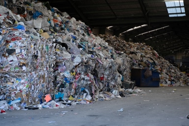 War on Waste at Visy Recycling