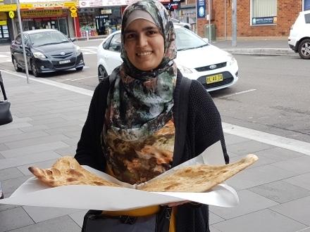 Taste fresh Afghani bread on a Taste Tour of Merrylands