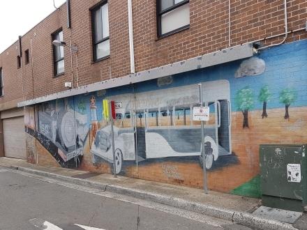 Merrylands Mural