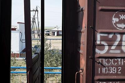 Goods Train on Trans Mongolian