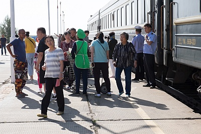 Approved Vendors on Stations of The Trans-Mongolian Railway