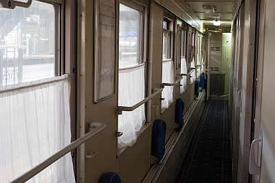Passage on the Trans Mongolian Train