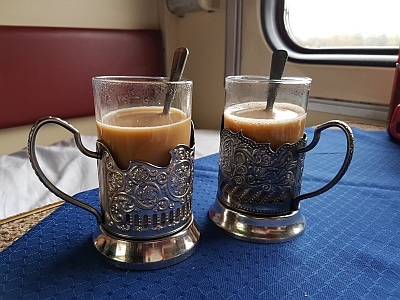 Coffee on the Trans-Siberian Railway