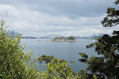 View of Sydney from the Hermitage Foreshore Walk